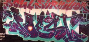 Where can art exist? Graffiti versus vandalism…